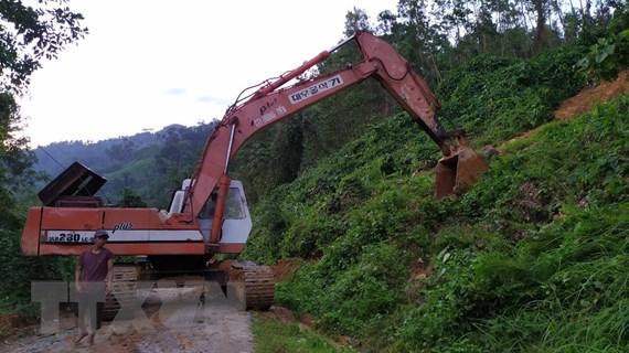Vụ sạt lở Nam Trà My: 21 người ở hai xã Trà Leng và Trà Vân thoát nạn
