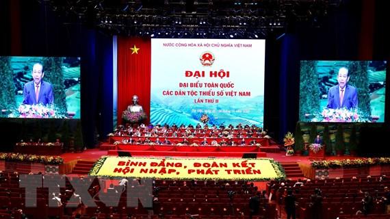 Đại hội đại biểu các dân tộc thiểu số lần thứ II thành công tốt đẹp
