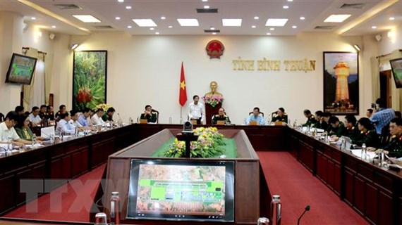 Bộ Quốc phòng làm việc tại Bình Thuận về dự án sân bay Phan Thiết