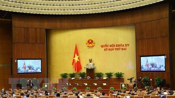 Quốc hội thảo luận về công tác tư pháp và phòng, chống tham nhũng