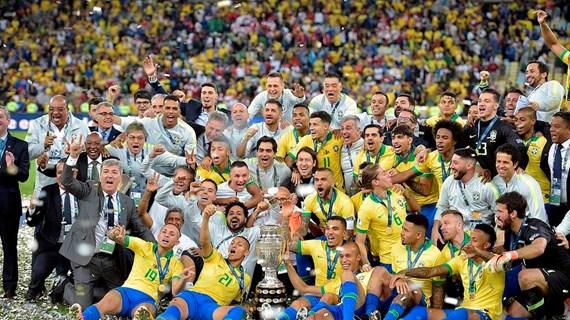 Đánh bại Peru, Brazil lần thứ 9 đăng quang Copa America