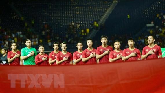 Việt Nam cùng bảng UAE, Thái Lan, Malaysia và Indonesia