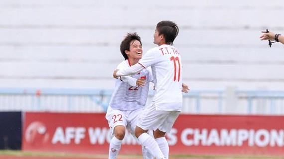 Ngược dòng hạ Philippines, tuyển nữ Việt Nam thẳng tiến chung kết