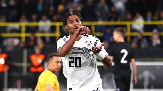 Gnabry lập kỷ lục trong ngày Đức rơi chiến thắng trước Argentina