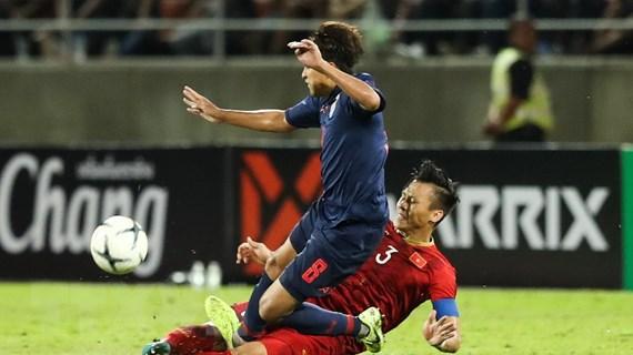 Việt Nam-Thái Lan 0-0: Bắn hạ 'Voi chiến,' xây chắc ngôi đầu