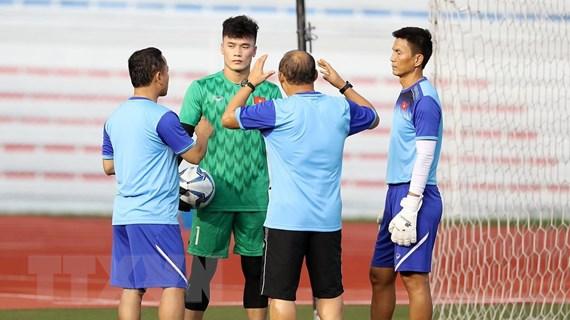 HLV Park Hang-seo từ chối trả lời về vị trí thủ môn của U22 Việt Nam