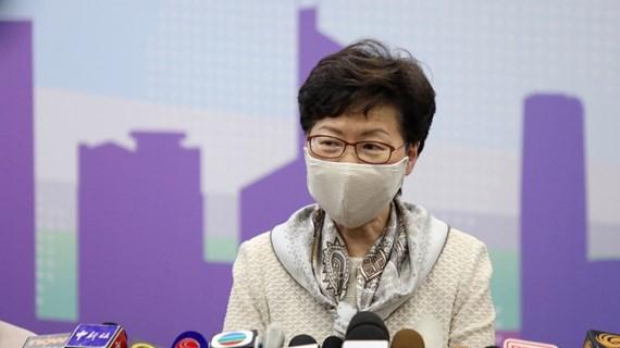 Chính quyền Hong Kong cam kết hợp tác đầy đủ về luật an ninh quốc gia