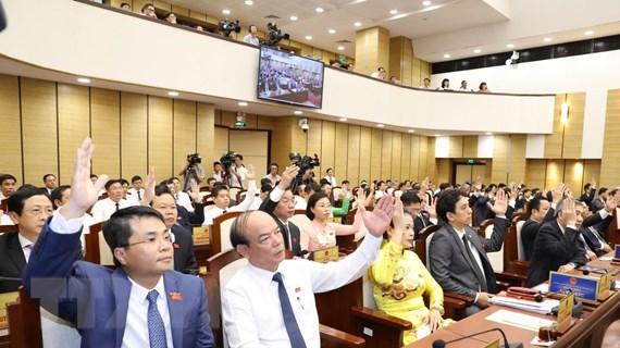 HĐND thành phố Hà Nội thông qua nhiều nghị quyết phát triển KT-XH