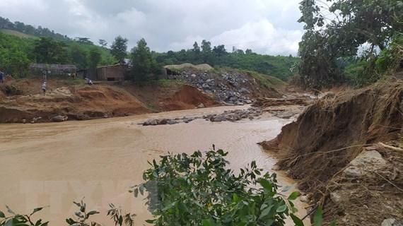 Vụ sạt lở tại huyện Phước Sơn: Mất liên lạc hoàn toàn với xã Phước Lộc
