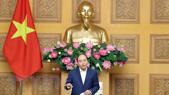 Thủ tướng Chính phủ làm việc với đại diện ngành dệt may, da giày