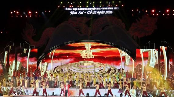Khai mạc Năm du lịch Quốc gia - Lễ hội Hoa Lư năm 2021