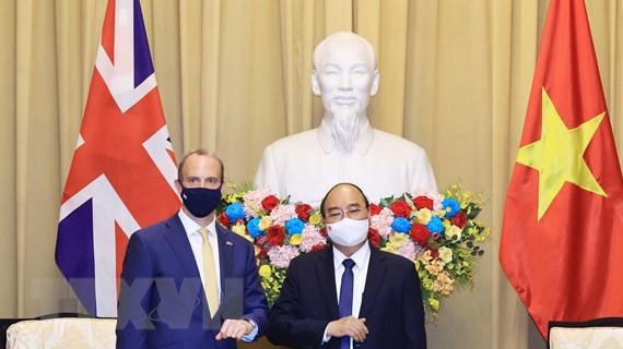 'Đưa quan hệ Đối tác chiến lược Việt Nam-Anh đi vào chiều sâu'