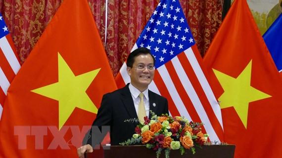 Thúc đẩy quan hệ đối tác toàn diện Việt Nam-Hoa Kỳ lên tầm cao mới