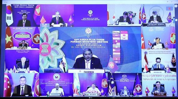 Nhiều tiến triển trong triển khai Kế hoạch công tác hợp tác ASEAN+3