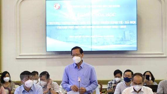Xây dựng lộ trình phục hồi và phát triển kinh tế TP Hồ Chí Minh