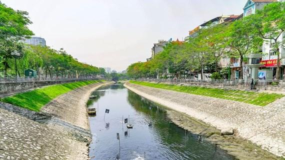Chuyên gia Nhật Bản thông tin việc thử nghiệm làm sạch sông Tô Lịch