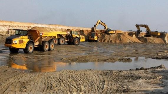 Gấp rút báo cáo tình hình xuất khẩu cát trắng silic làm khuôn đúc