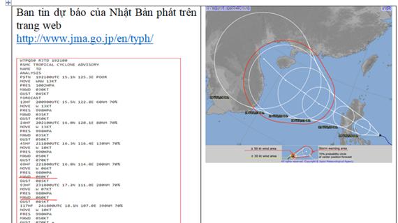 Bác bỏ thông tin bão số 8 có khả năng mạnh lên tới cấp 'siêu bão'