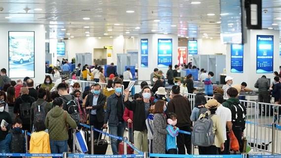 Bố trí bãi đỗ tàu bay riêng biệt, phân luồng khách từ Hàn Quốc về nước