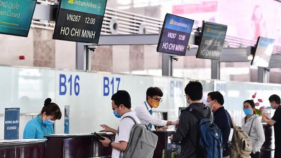 Hành khách bay nối chuyến tới Côn Đảo chỉ cần làm thủ tục một lần