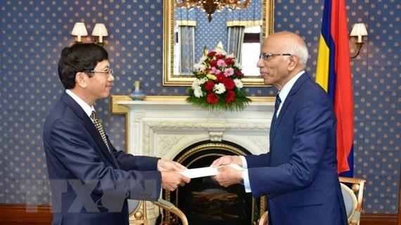 Việt Nam-Mauritius cam kết thúc đẩy quan hệ trên nhiều lĩnh vực