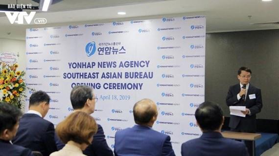 Khai trương Văn phòng Yonhap khu vực Đông Nam Á tại Hà Nội