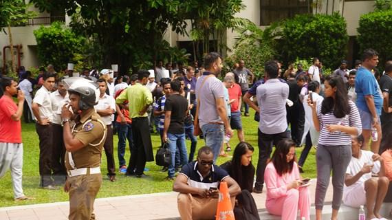 Nổ tại Sri Lanka: Chưa có thông tin công dân Việt Nam bị ảnh hưởng