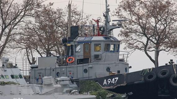 Tòa án Quốc tế về Luật Biển yêu cầu Nga thả tàu và thủy thủ Ukraine
