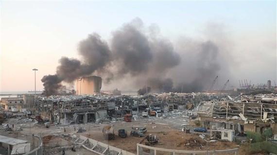 [Video] Liban: Vụ nổ Beirut gây thiệt hại lên tới 15 tỷ USD