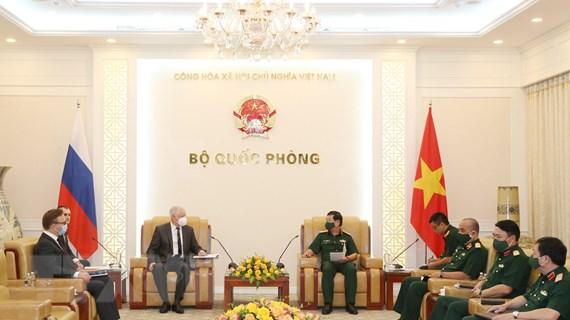Việt Nam-Liên bang Nga tăng cường hợp tác về kỹ thuật quân sự