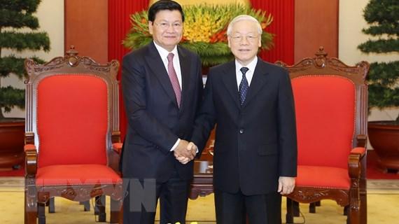 Không ngừng vun đắp mối quan hệ đặc biệt Việt Nam-Lào