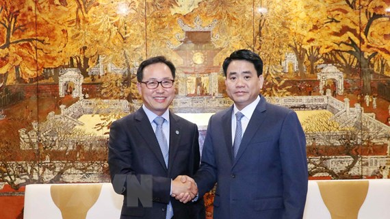 Hà Nội sẽ tạo điều kiện cho Samsung xây mới trung tâm nghiên cứu