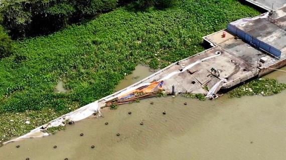 TP.HCM: Khắc phục sự cố sập cầu tàu trong khu cảng Ba Son