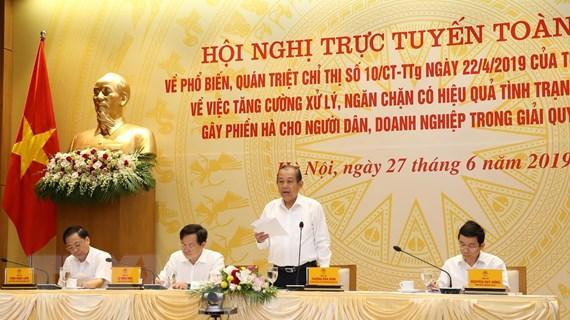 """Phó Thủ tướng: """"Tham nhũng vặt"""" làm xói mòn niềm tin của người dân"""