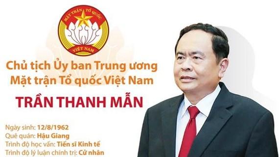 [Infographics] Chủ tịch Ủy ban MTTQ Việt Nam Trần Thanh Mẫn