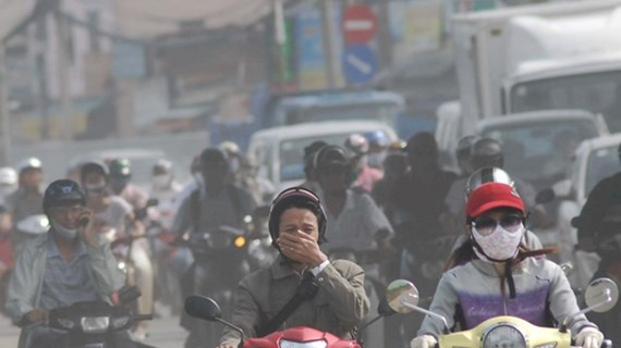Trên 50 điểm quan trắc không khí miền Bắc ở ngưỡng rất có hại sức khỏe