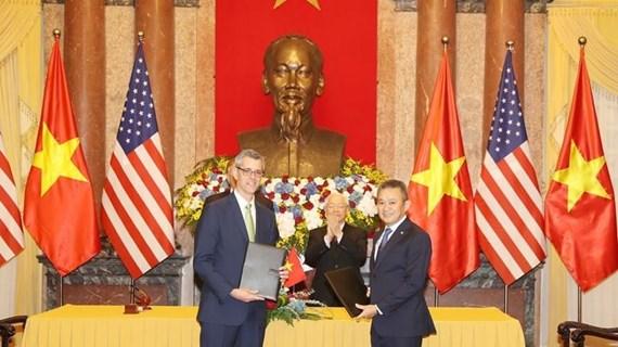 [Mega Story] Hợp tác kinh tế: Điểm sáng trong quan hệ Việt Nam-Hoa Kỳ