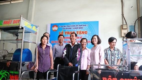 """Giảm nghèo ở Thành phố Hồ Chí Minh: Trao """"cần câu"""" thay """"xâu cá"""""""
