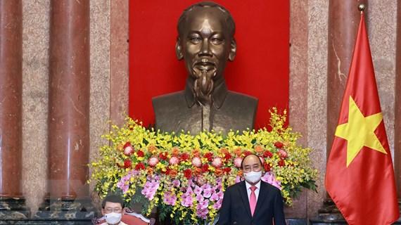 Chủ tịch nước tiếp đại biểu các dân tộc thiểu số tỉnh Bắc Giang