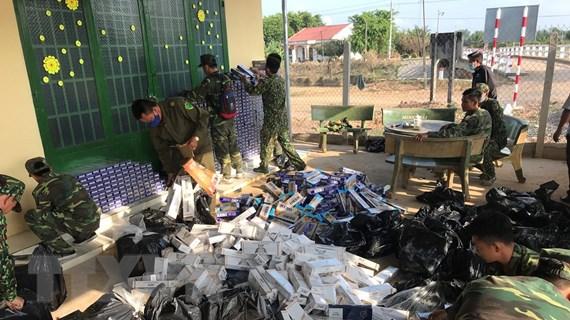 Hải quan phát hiện hàng nghìn vụ gian lận thương mại qua biên giới