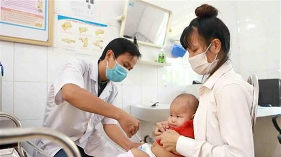 Thành quả tiêm chủng mở rộng: Khống chế nhiều bệnh truyền nhiễm