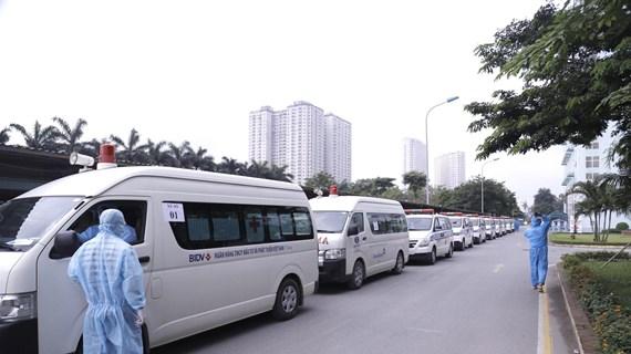 500 người ở Bệnh viện K được chuyển tới cơ sở cách ly khác