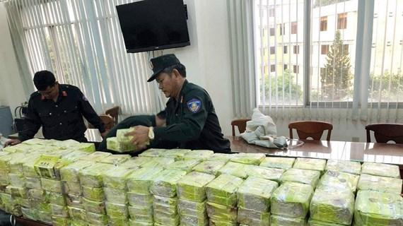Triệt phá đường dây buôn bán ma túy lớn, thu giữ 300kg ma túy