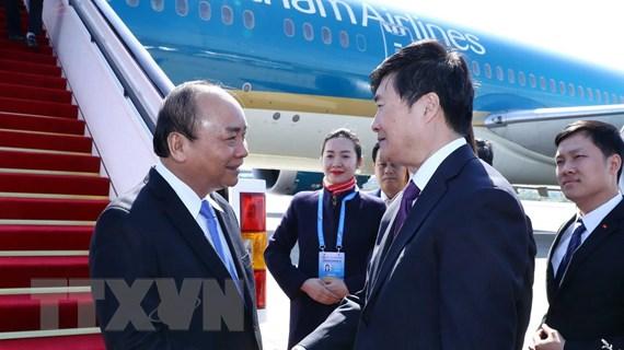 Thủ tướng đến Bắc Kinh, bắt đầu tham dự Diễn đàn Vành đai và Con đường