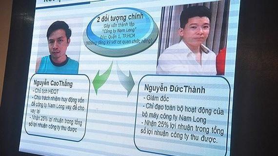 Thanh Hóa: Bắt thêm 4 đối tượng trong Tập đoàn tín dụng đen Nam Long