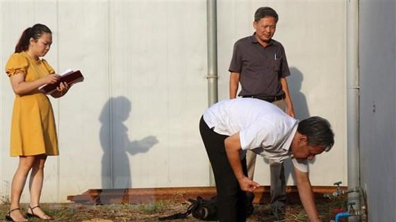 Công bố kết quả kiểm tra chất lượng nước sạch của Nhà máy nước Sông Đà