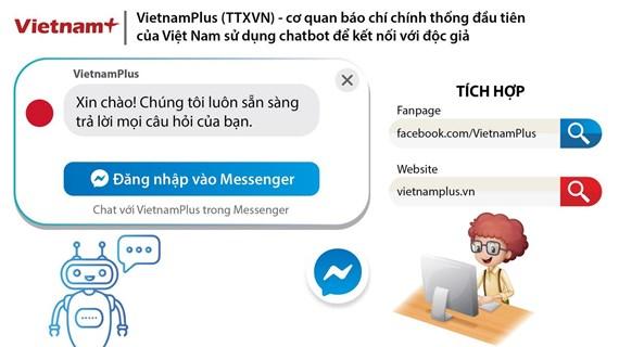 Sản phẩm Chatbot của TTXVN đoạt giải chất lượng thông tấn của OANA