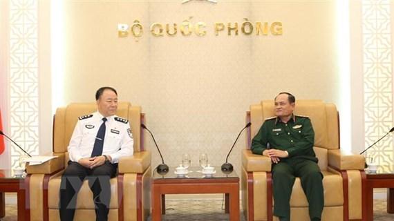 Việt-Trung tiếp tục duy trì và phát triển hợp tác quốc phòng