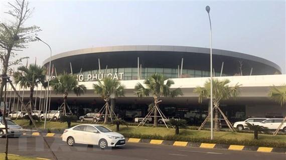 Sân bay Phù Cát sẽ đón các chuyến bay quốc tế vào cuối tháng 12