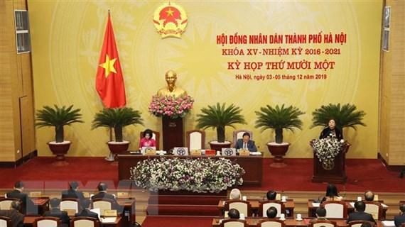 Bế mạc Kỳ họp thứ 11 Hội đồng Nhân dân thành phố Hà Nội khóa XV
